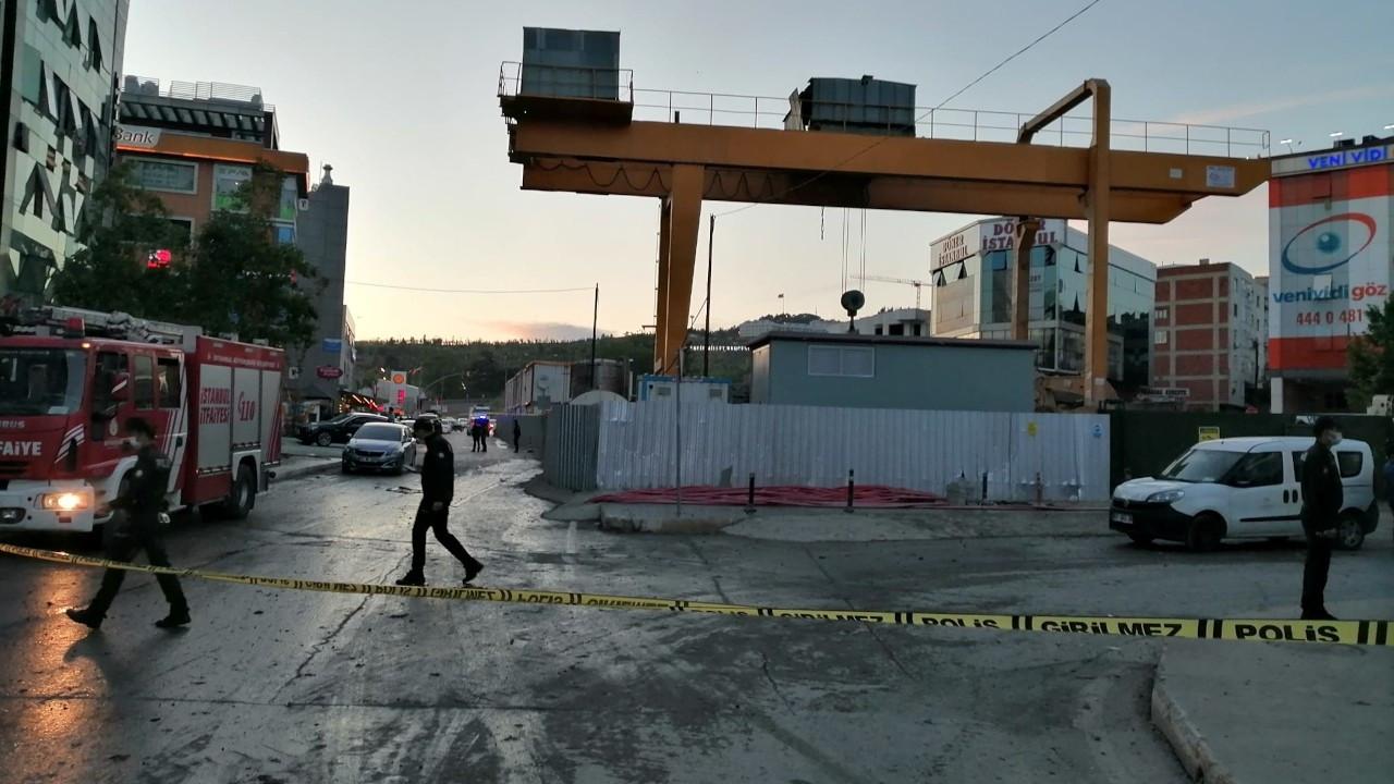Pendik'te metro inşaatında patlama: 1 işçi yaralandı