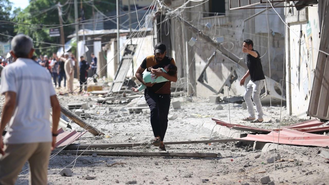 İsrail'in Gazze saldırılarında ölenlerin sayısı 87'ye yükseldi
