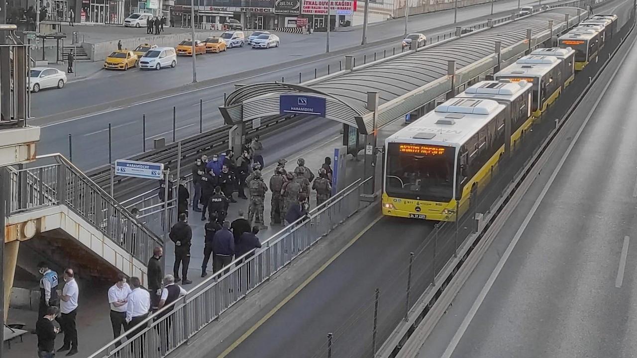 Metrobüste rehine krizi iddiası
