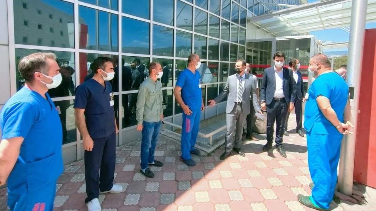 Tokat AK Parti İl Başkanı'nın 'bayram ziyareti' paylaşımına tepki