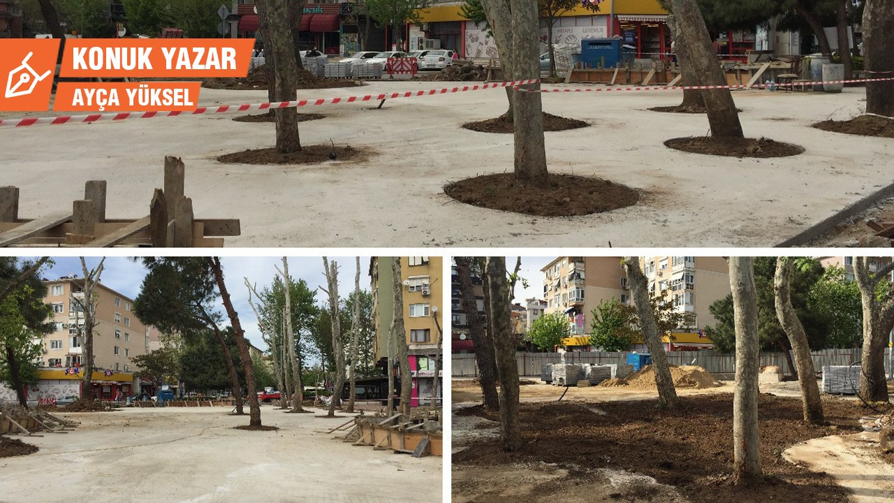 Maltepe'deki Beton Park projesinin düşündürdükleri