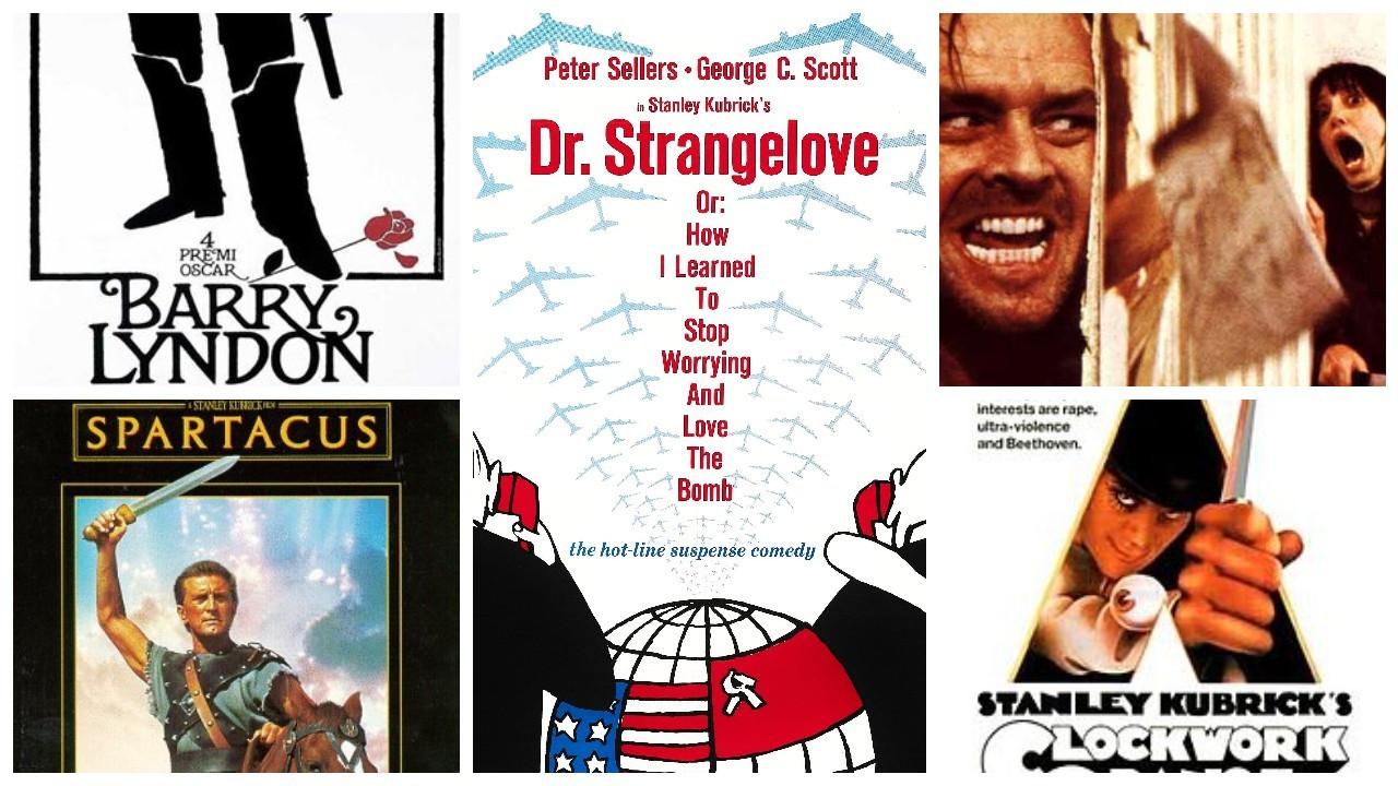 Eleştirmenlere göre en düşük puandan en yüksek puana Stanley Kubrick filmleri