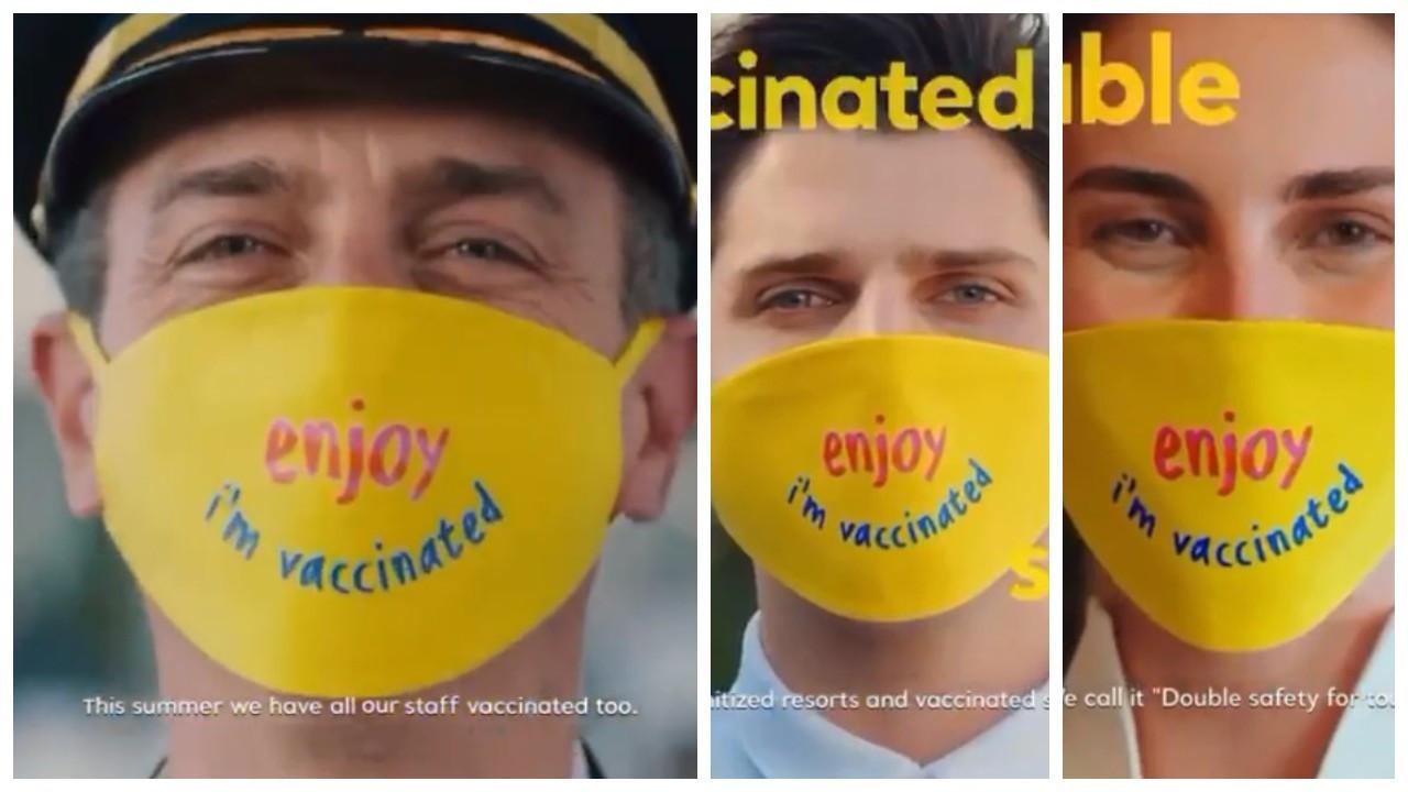 'Aşılandım' videosu sosyal medyada gündem: Neredeyse sömürge zihniyetini andırıyor