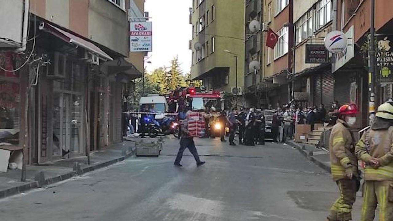 Şişli'de üç bina yıkılma tehlikesine karşı boşaltıldı