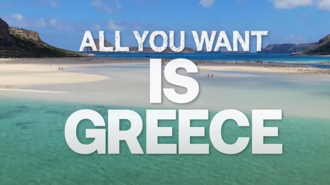 Yunanistan turizm sezonunu video kampanyasıyla başlattı