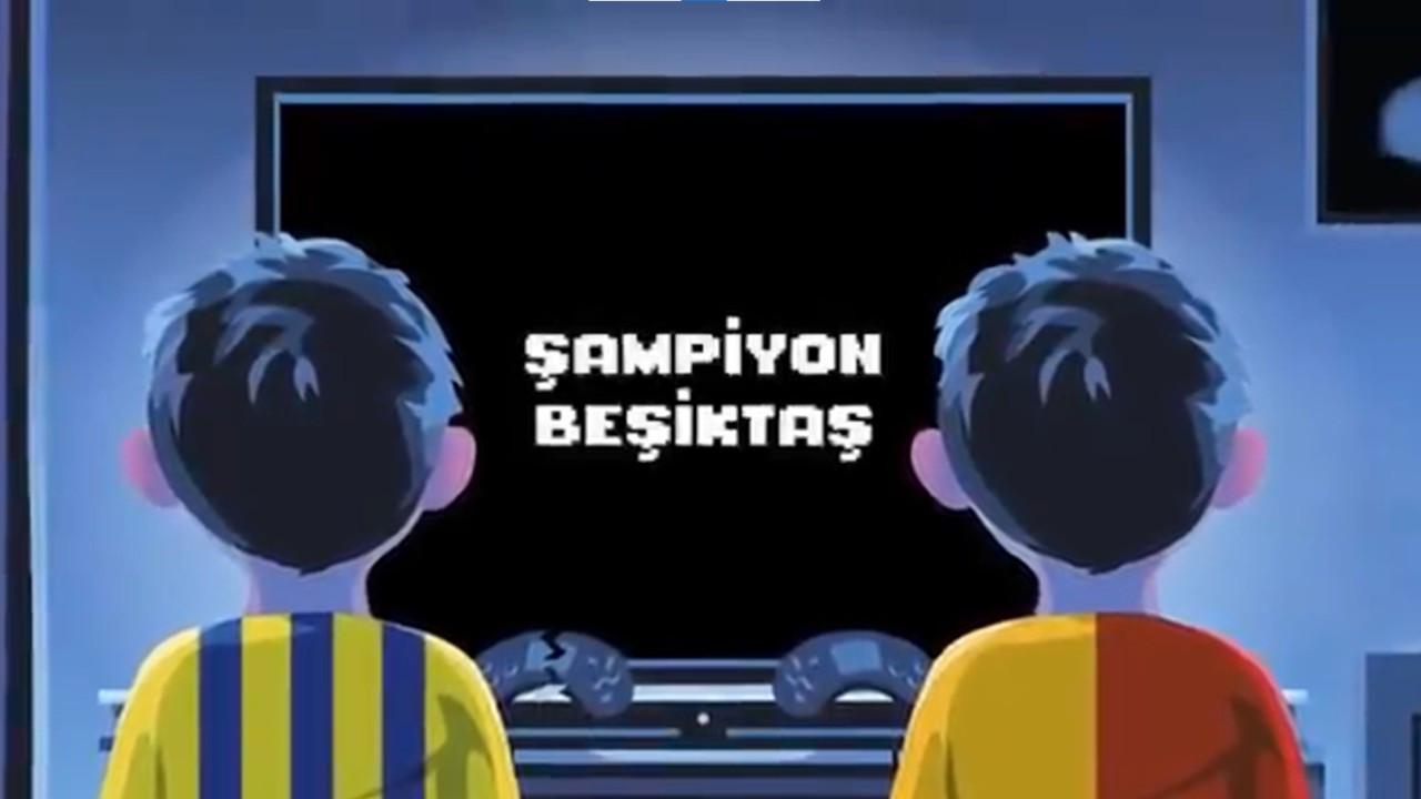 Beşiktaş'tan şampiyonluk mesajı: Oyun bitti çocuklar şimdi gerçekler