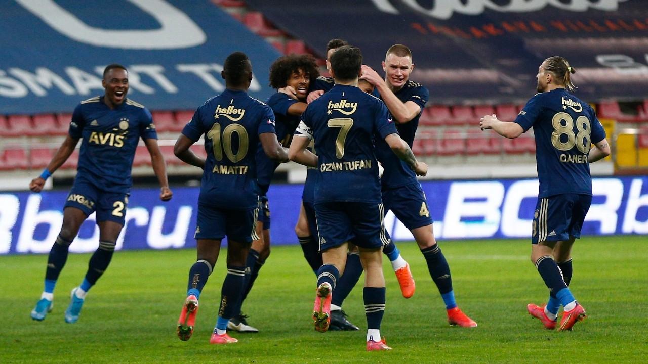 Fenerbahçe, Kayseri'den 2-1 galip ayrıldı