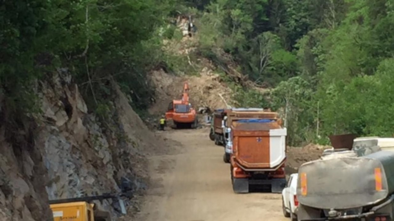 CHP'li heyet İkizdere'de çalışma alanına alınmadı