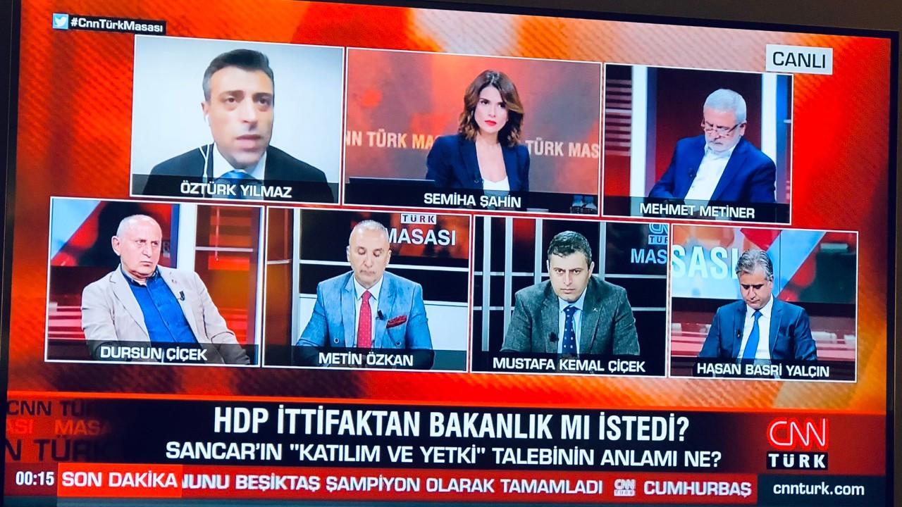 HDP'siz HDP tartışmasına Oluç'tan tepki: Ekran karşısında çekirdek çitleyip eğlenmek için...