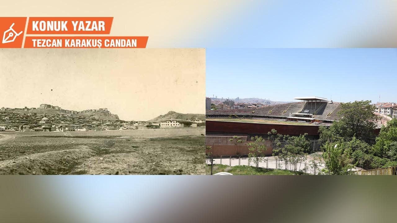 Cebeci Stadyumu, nam-ı diğer Cebeci Çayırı, Hamit'in Tarlası