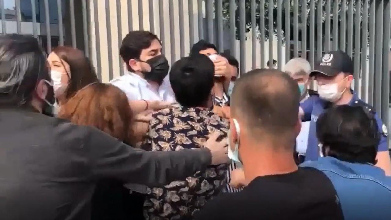 Cengiz Holding önündeki açıklamaya polis saldırısı: 13 gözaltı