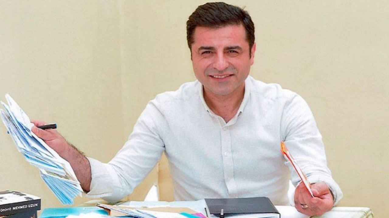 Kobanê davası... Demirtaş'ın savunmasının tam metni: Hakim koltuğunda Erdoğan, Bahçeli ve Soylu oturuyor