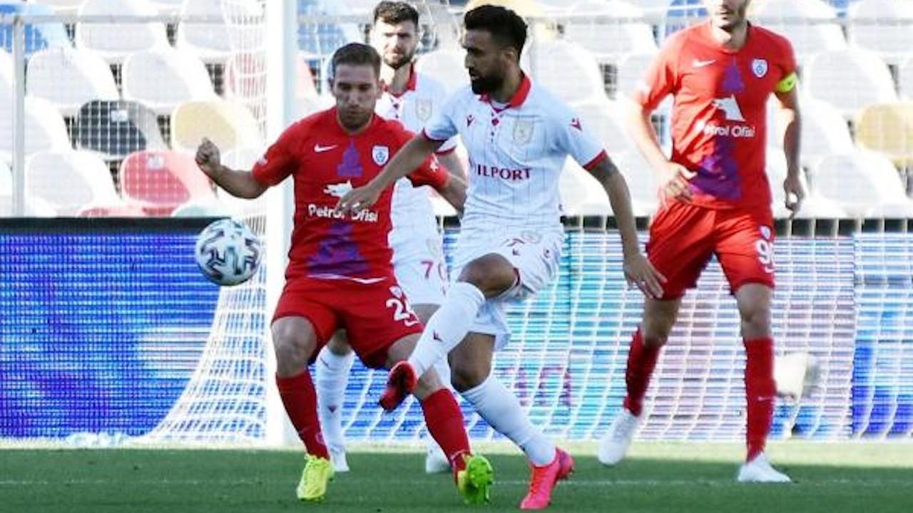 TFF 1. Lig play-off yarı final ilk maçının galibi Altınordu: 1-0