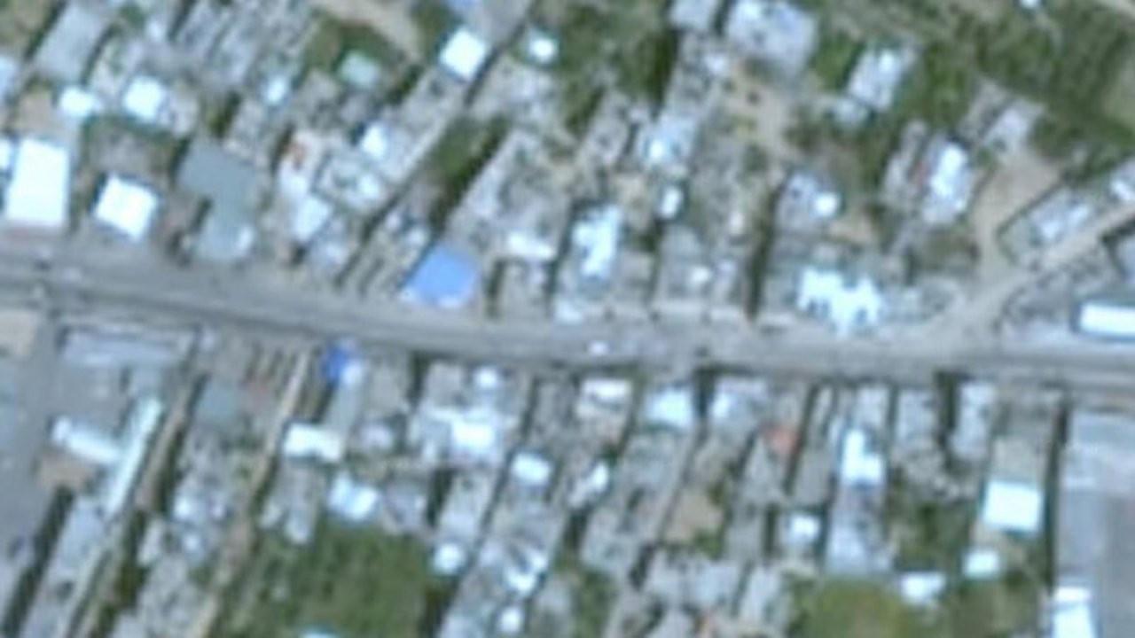Google haritalarında Gazze neden bulanık?