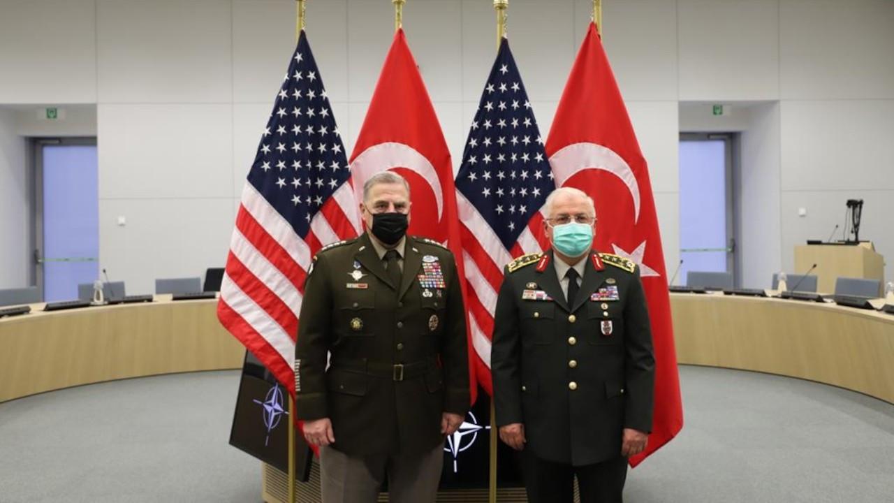 Yaşar Güler, ABD Genelkurmay Başkanı Milley ile görüştü