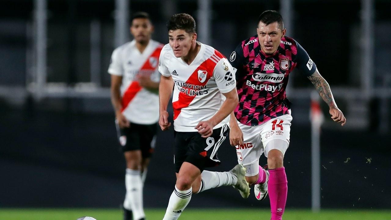 Kalecisi ve yedek oyuncusu olmayan River Plate maçı kazandı