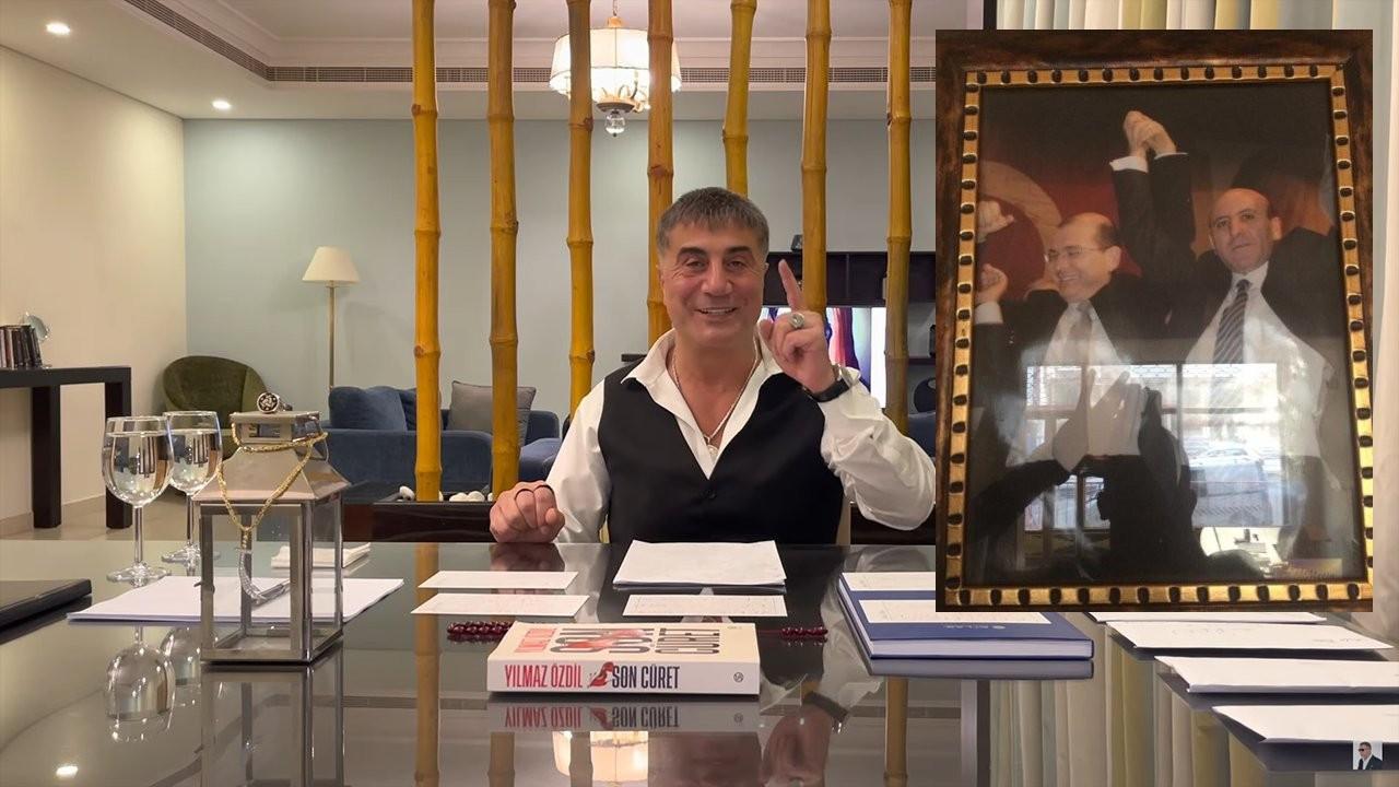 Peker, 'Sağ kolum' dediği Erdal Aras ve Soylu'nun fotoğrafını paylaştı