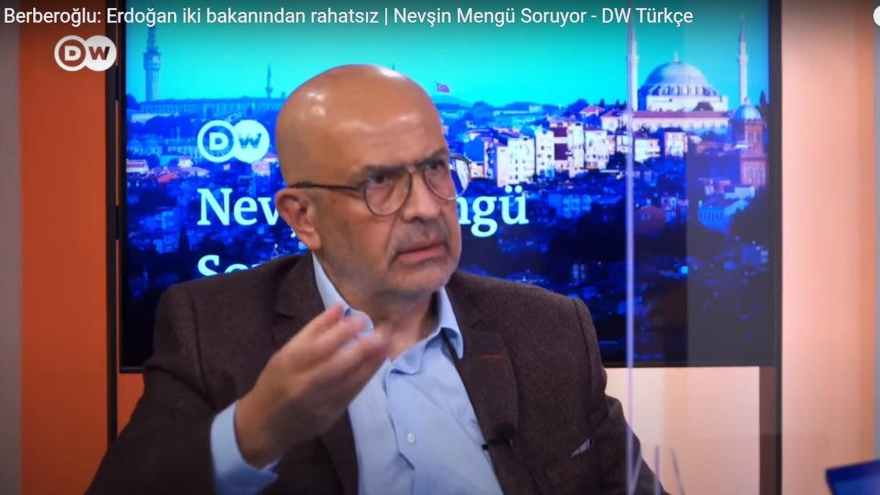 Berberoğlu: Erdoğan'ın Soylu ve Akar'dan rahatsız olduğu konuşuluyor