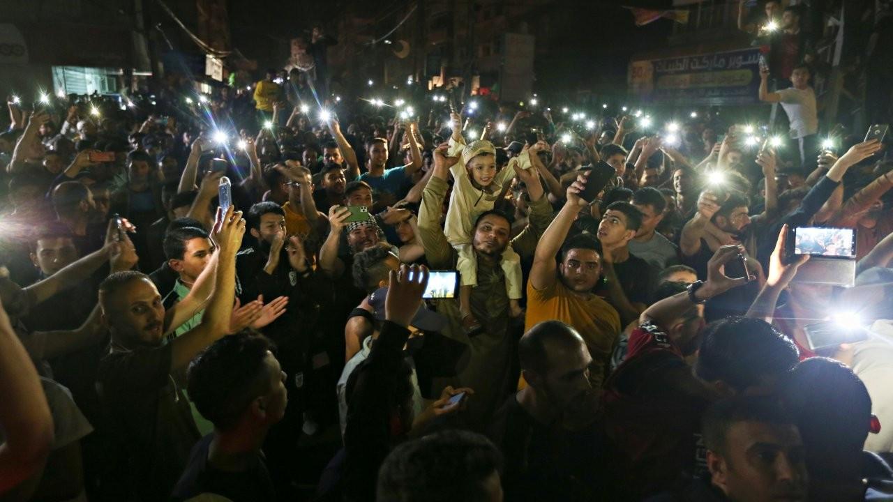 Gazze, Batı Şeria ve Kudüs'te ateşkes kutlamaları