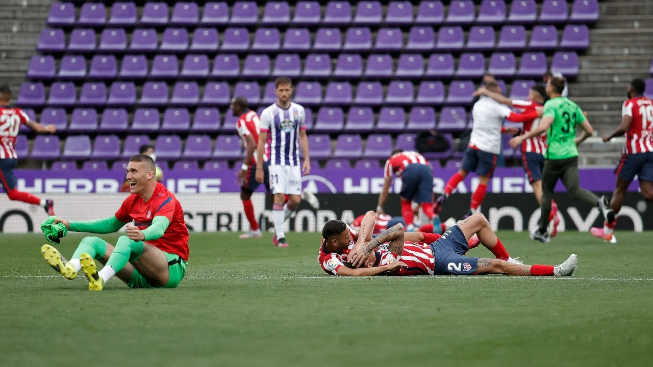 Atletico Madrid, La Liga şampiyonu oldu