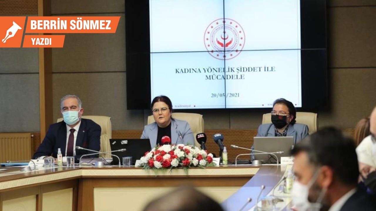 Komisyon ve Bakan faile mağduriyet atfetme yarışında