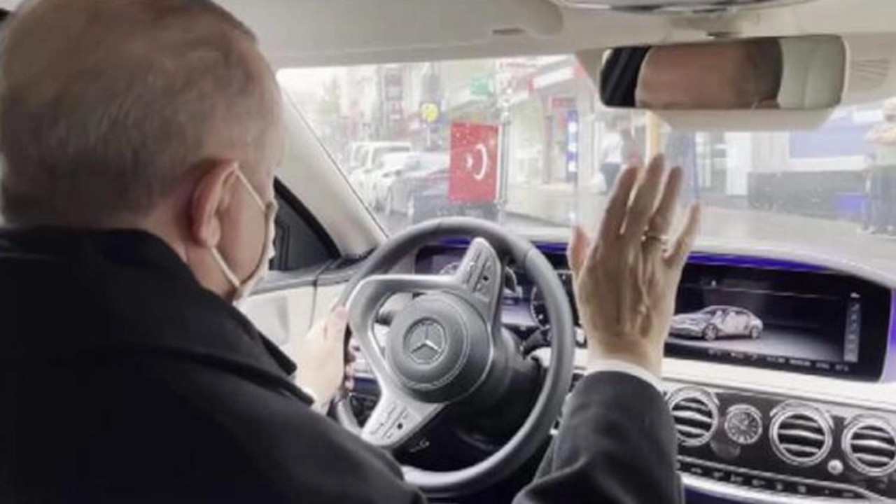 Altun'dan Erdoğan videosu: Hakka yürüyünce yol mu dayanır?