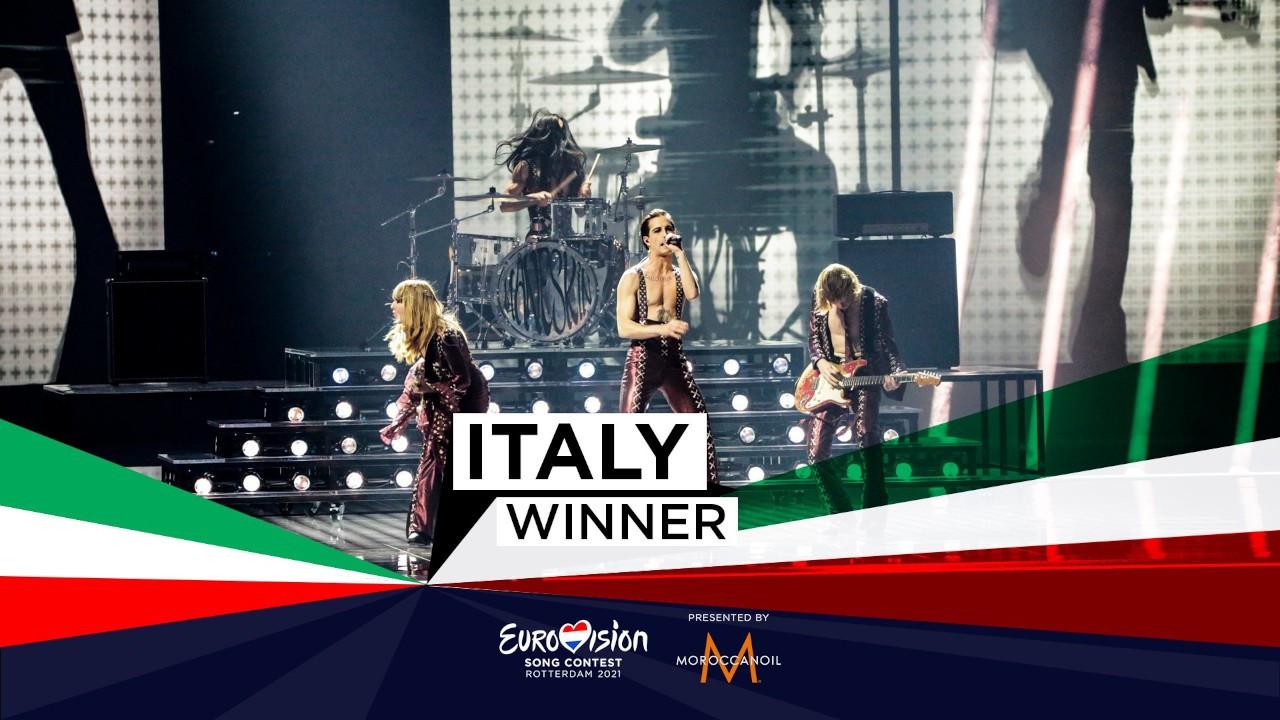 Eurovision'un galibi İtalya oldu