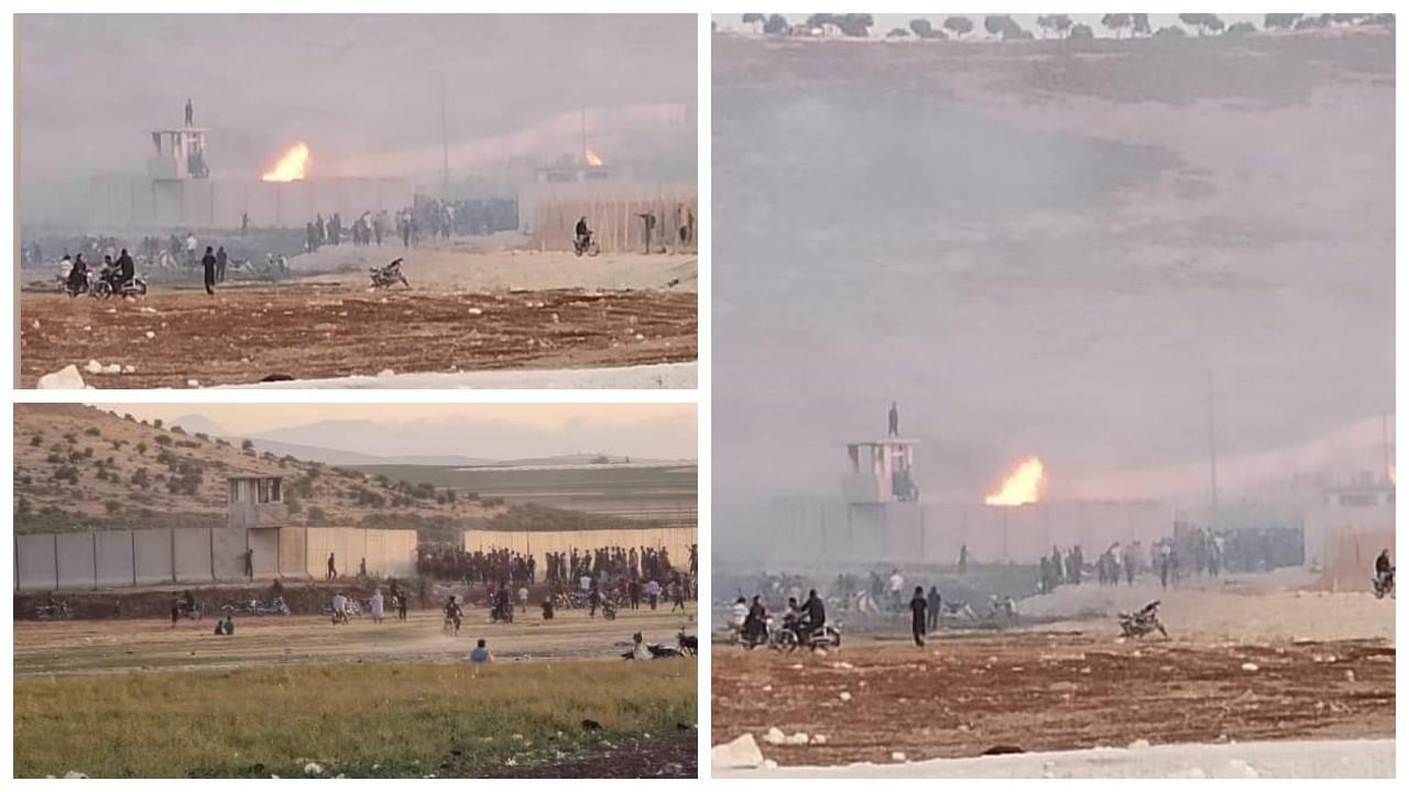 İddia: Reyhanlı sınır karakolunu Suriyeliler bastı