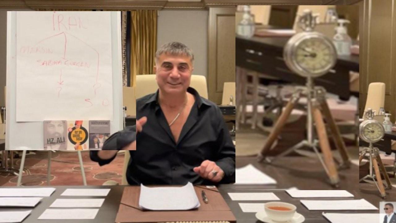 Sedat Peker'den Soylu'ya: Akşam altıda bir hediyem var
