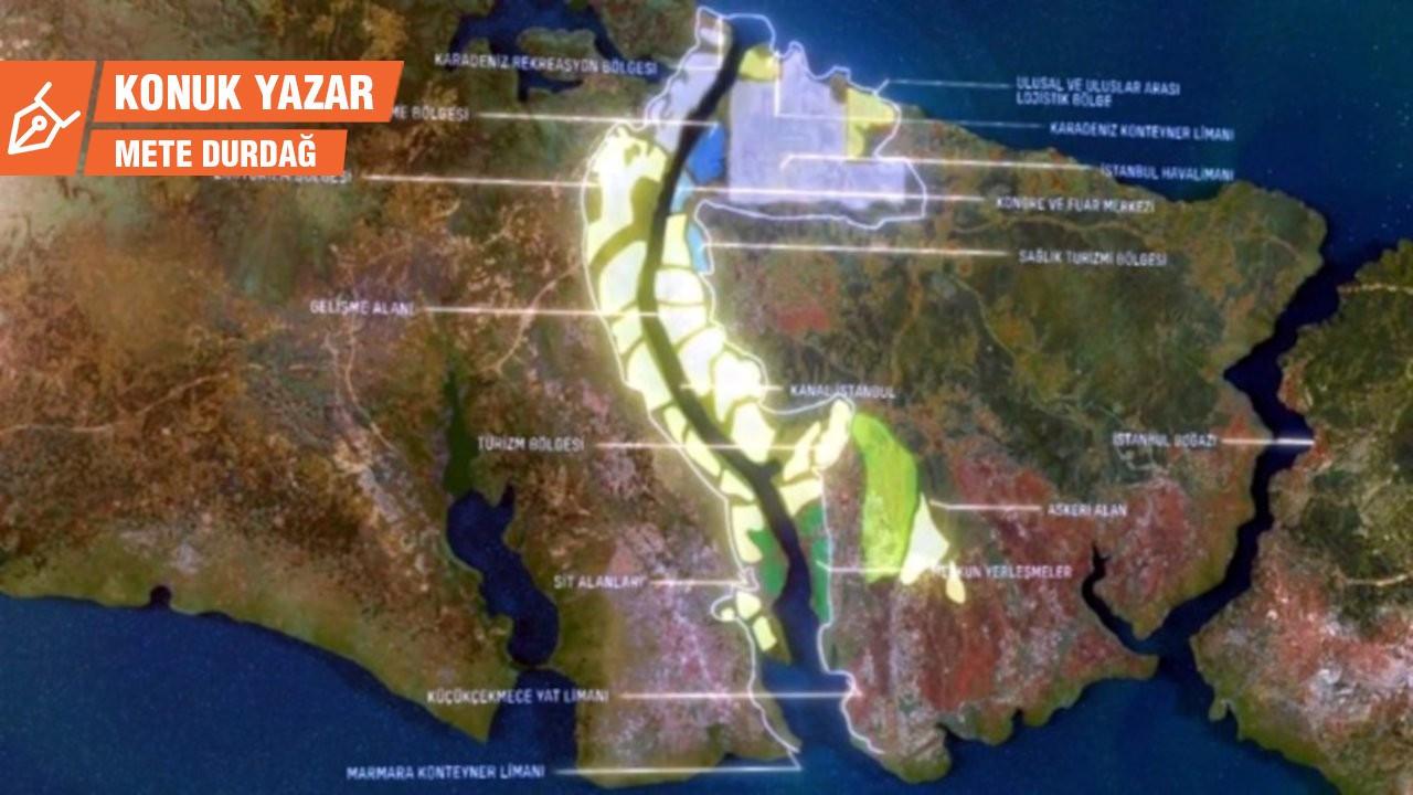 Kanal İstanbul projesinin 75 milyar TL maliyet masalı*