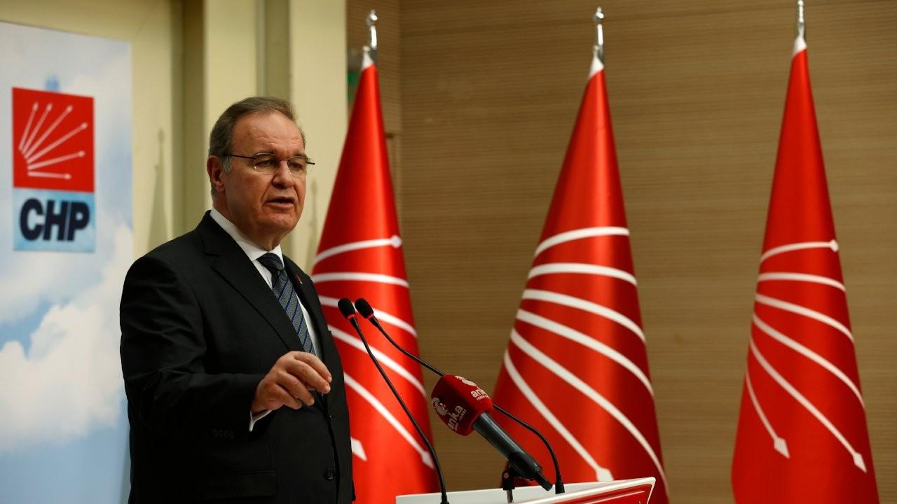 CHP Sözcüsü Faik Öztrak: Artık o tuğla çekilmelidir