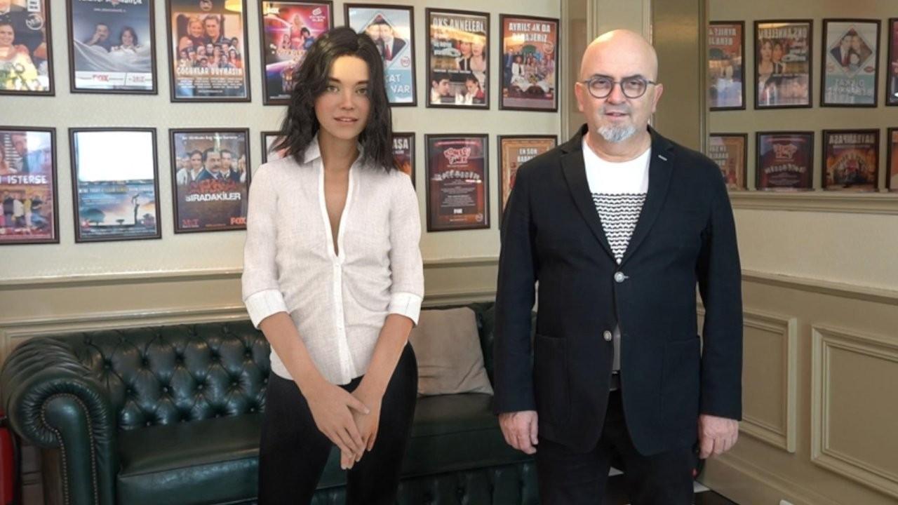 Türkiye'nin ilk robot oyuncusu Aypera filmde rol alacak