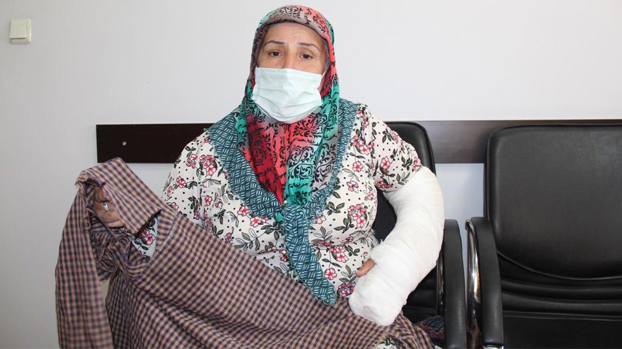 Diyarbakır'da polis 55 yaşındaki kadının dişlerini ve kolunu kırdı