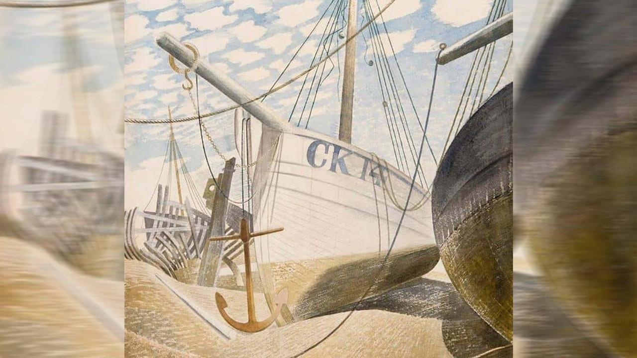 Ravilious'un kayıp sanılan tablosu 82 yıl sonra ilk kez sergilenecek
