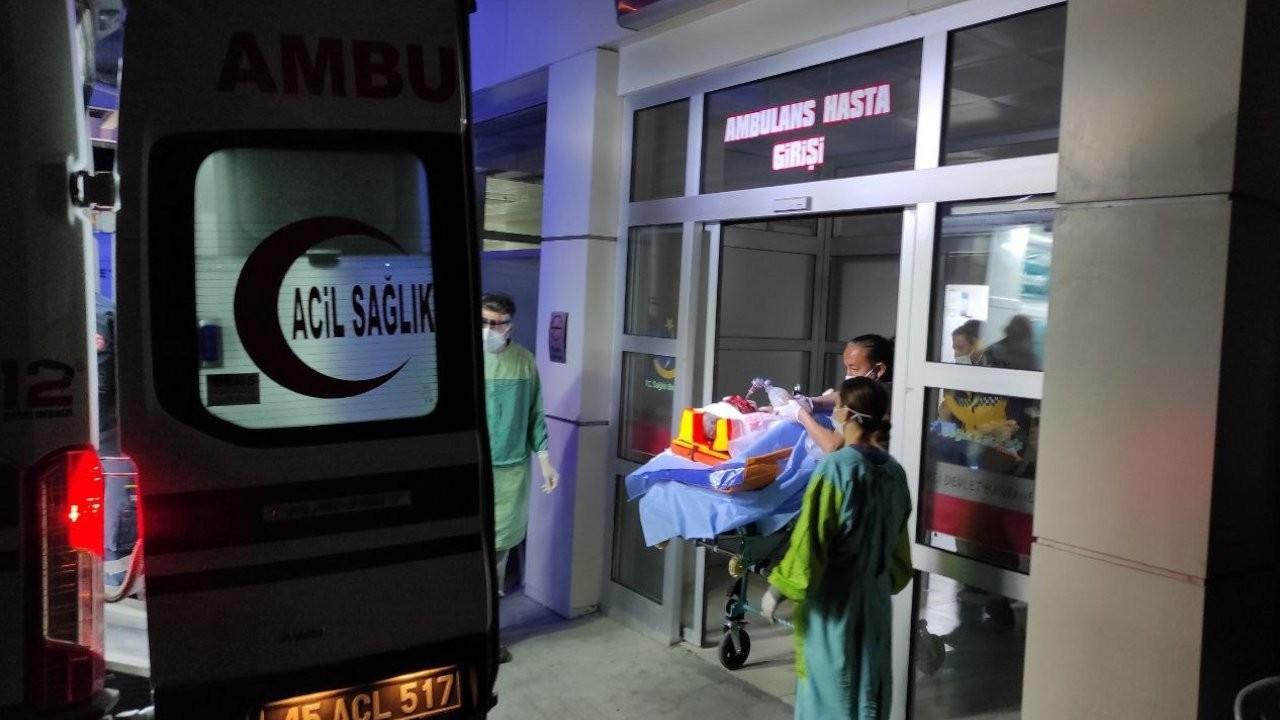 Pres makinesine sıkışan işçi ağır yaralandı