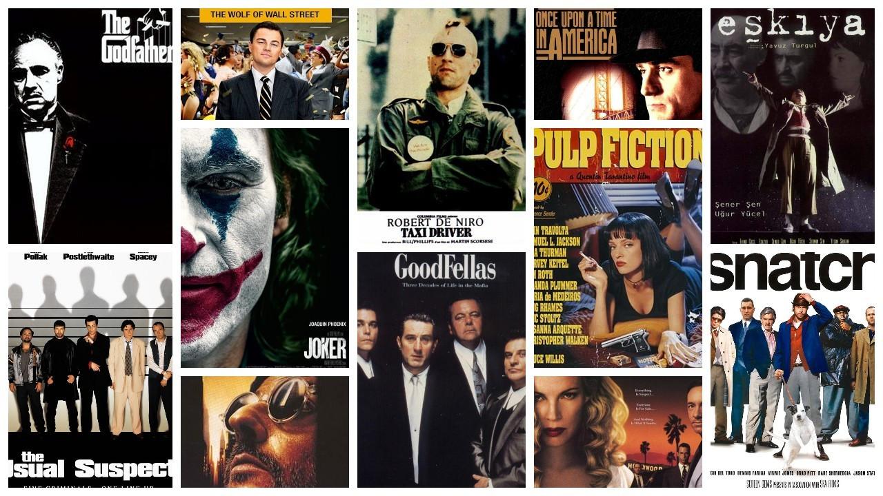 IMDb'ye göre en yüksek puanlı 50 suç filmi