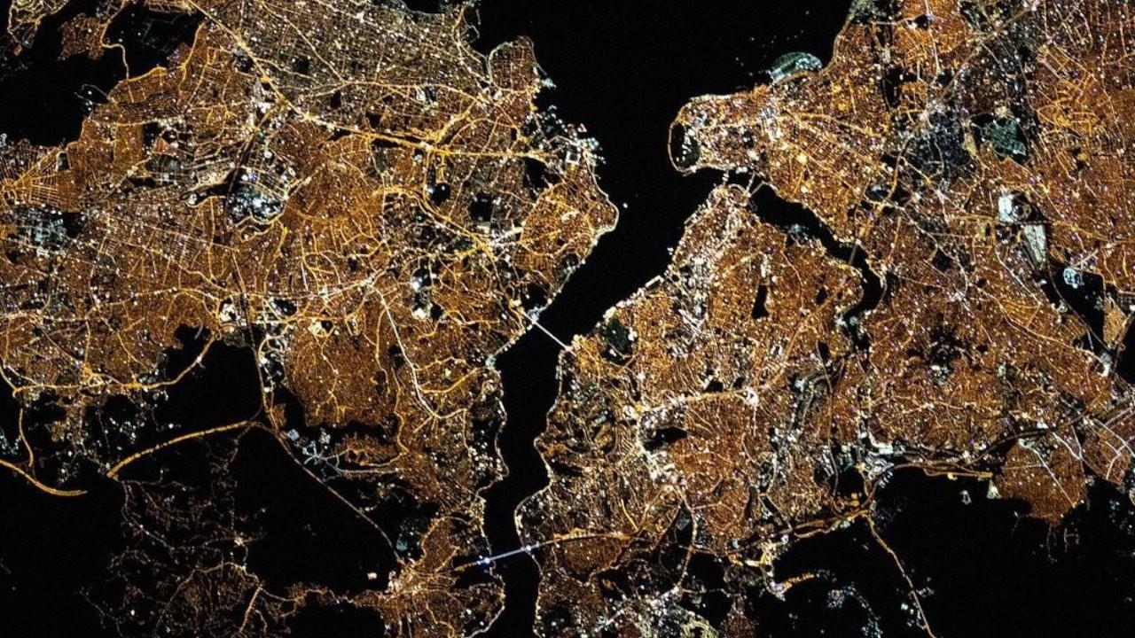 NASA'dan İstanbul fotoğrafı