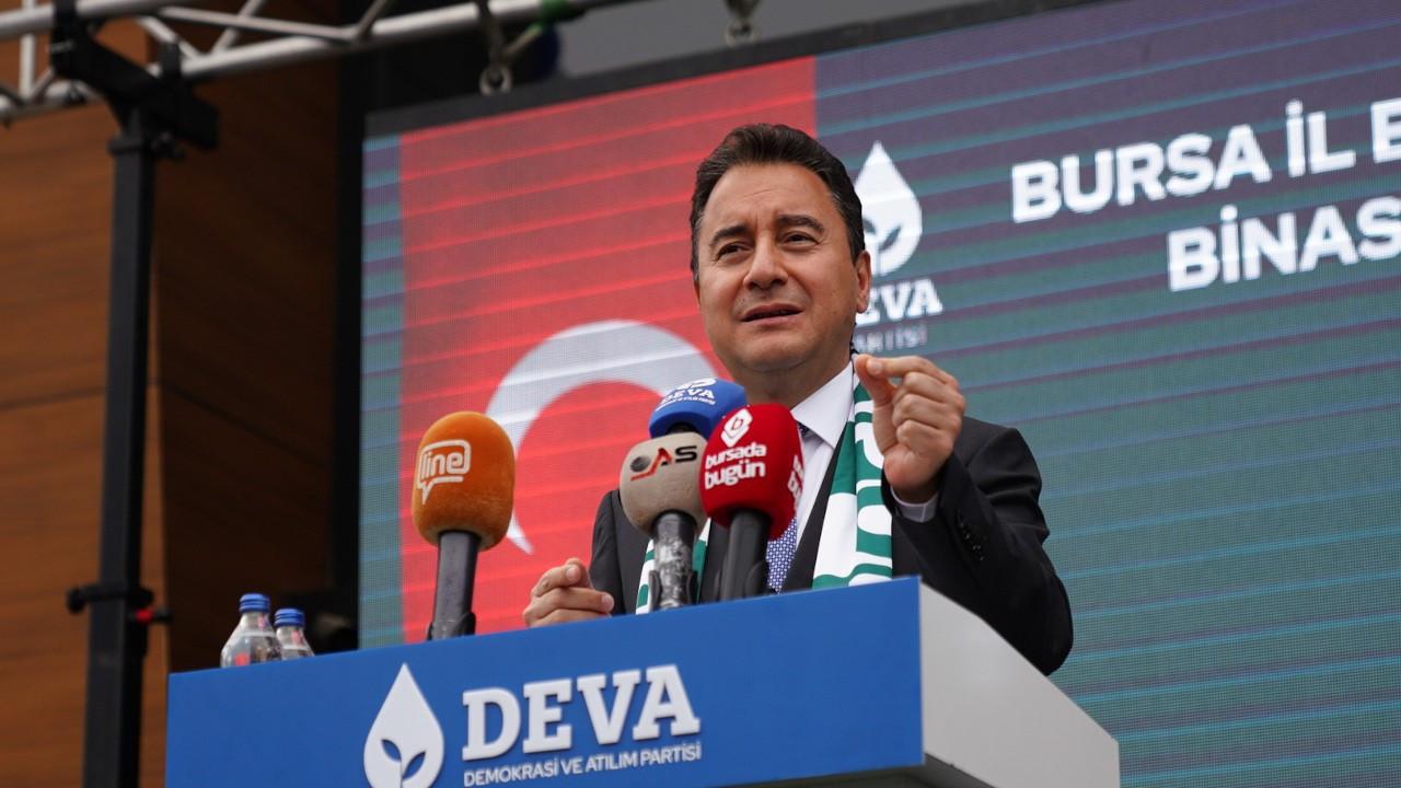 Babacan: Bir genel başkana saldırı olursa sorumlusu Erdoğan'dır
