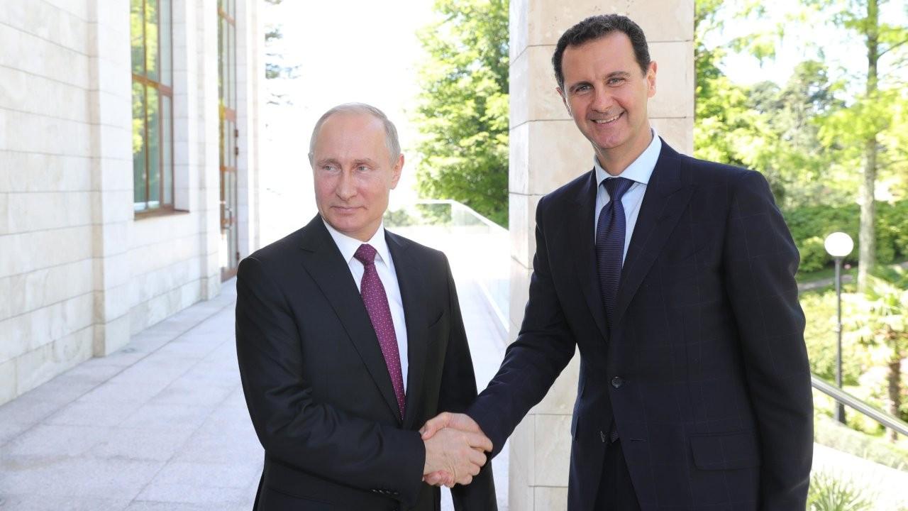 Putin'den Esad'a tebrik mesajı