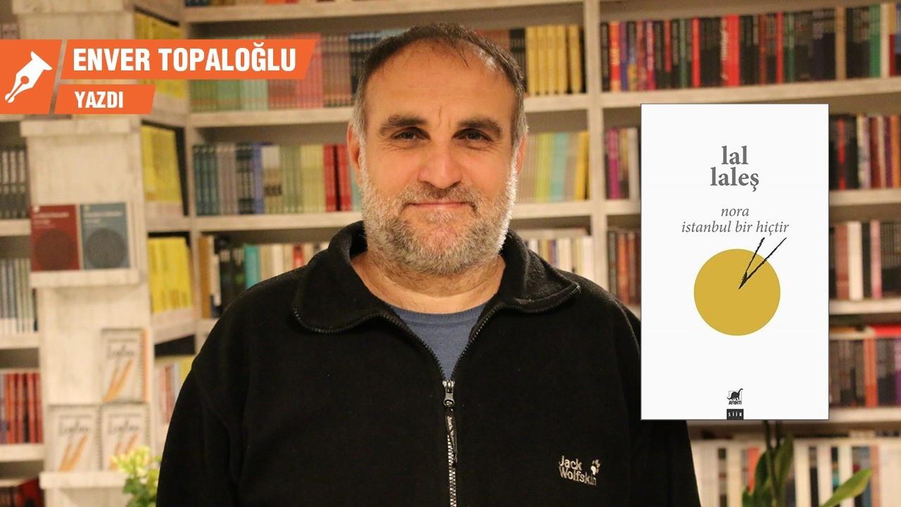 Lal Laleş'ten bir ilk: Türkçe şiir kitabı
