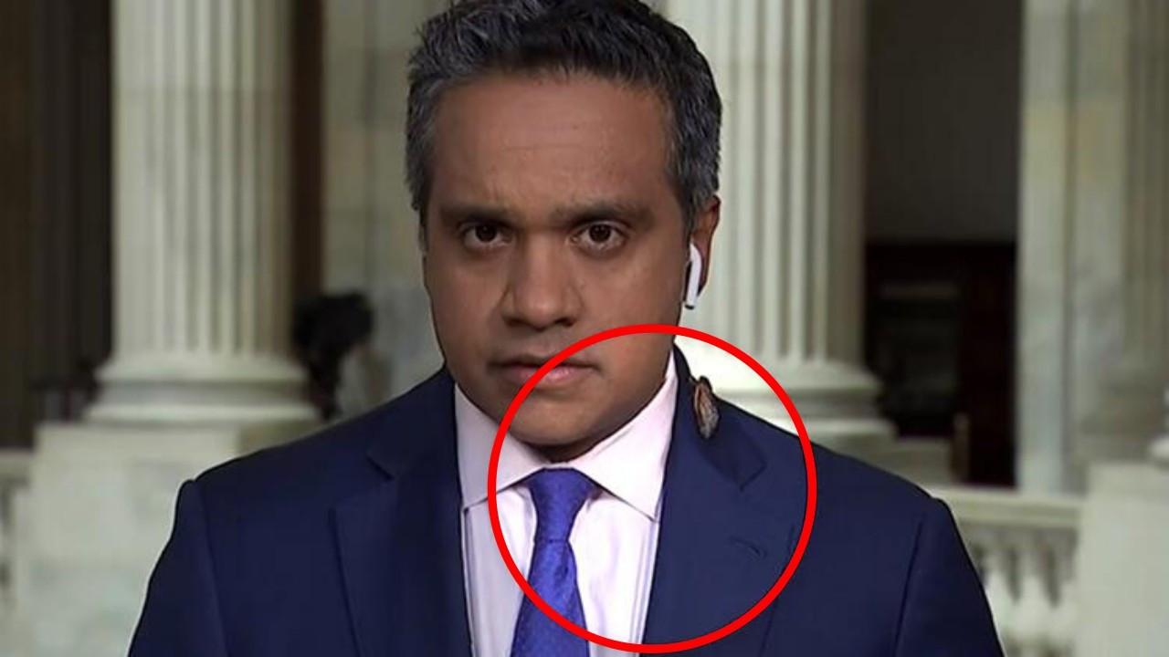 CNN muhabirinin böcek paniği viral oldu