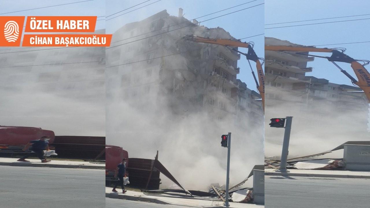 Yıkımlar kontrolsüz sürüyor: 'İzmirliler asbest, zehir ve silika soluyor'
