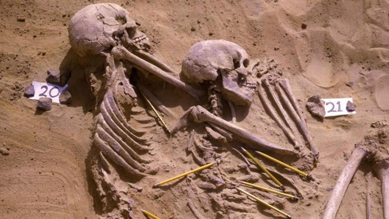 13 bin 400 yıllık savaştan kalıntılar: Sebebi iklim krizi olabilir
