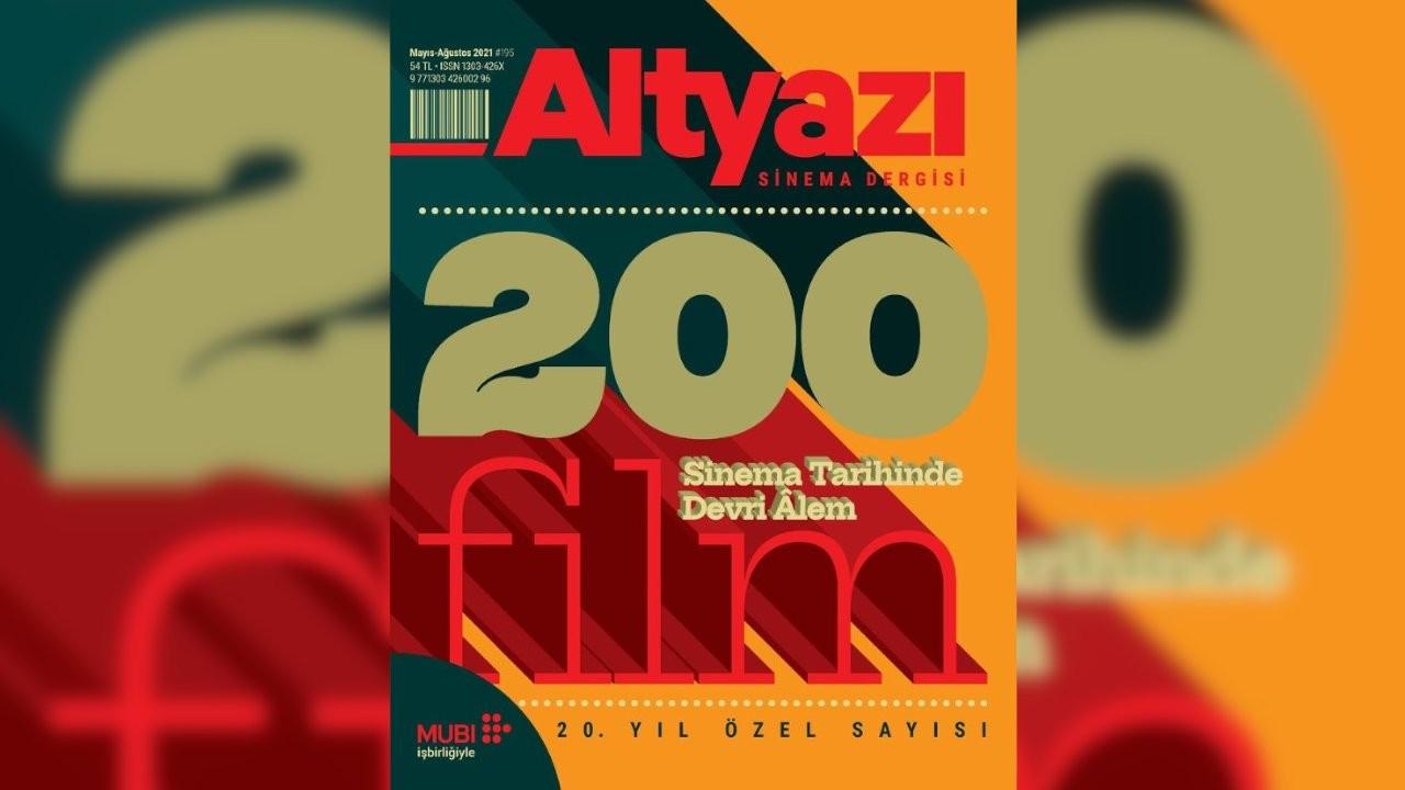 Altyazı'nın 20. yıl özel sayısı çıktı