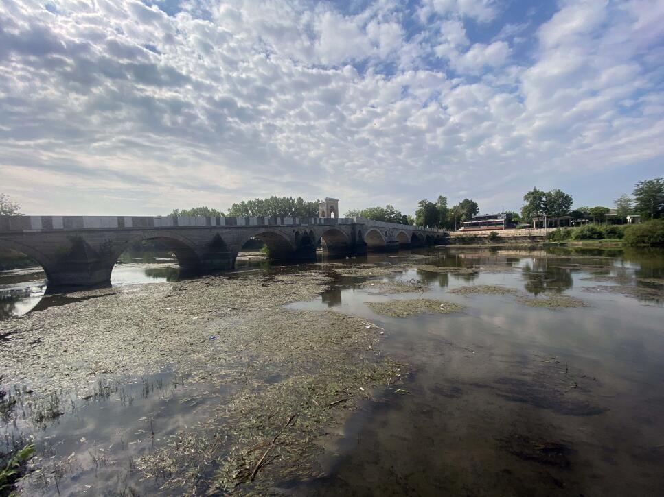 Tunca Nehri'ni kuraklık vurdu: Su seviyesi yer yer 30 santimetreye düştü - Sayfa 2