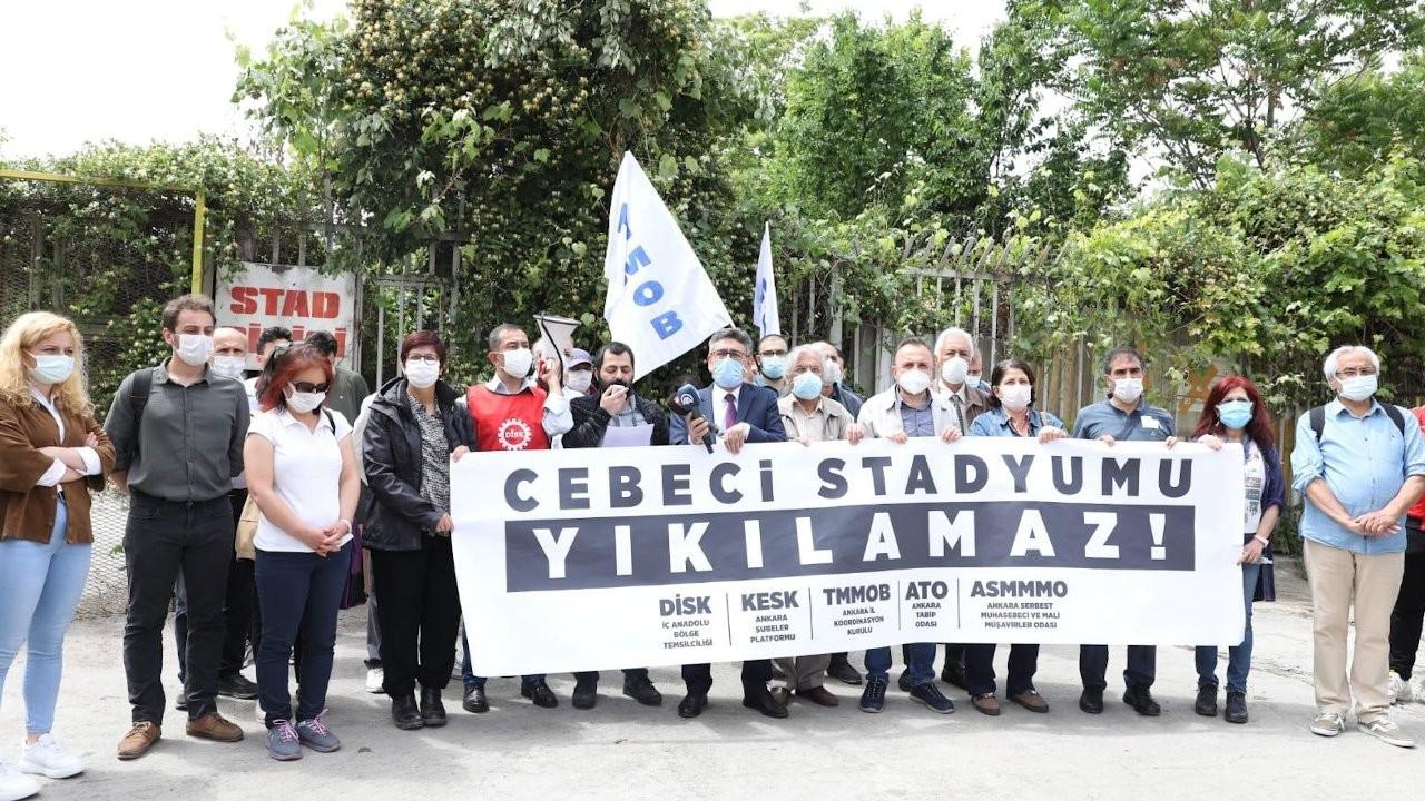 Cebeci Stadyumu için dayanışma çağrısı