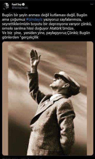 Ayasofya'da Atatürk'e lanet okuyan imama sanatçılardan tepki: Sonsuza kadar her 10 Kasım'da hayat duracak - Sayfa 3