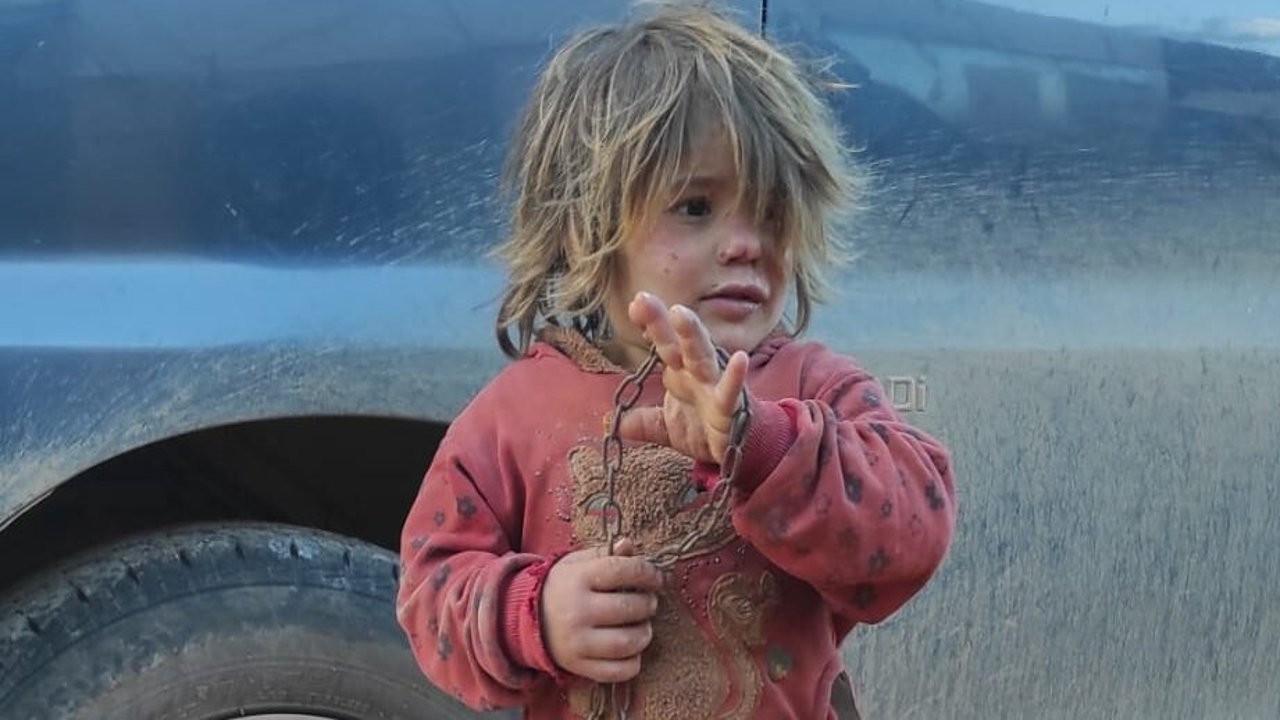 İdlib'de babasının zincirlediği 6 yaşındaki çocuk açlıktan öldü