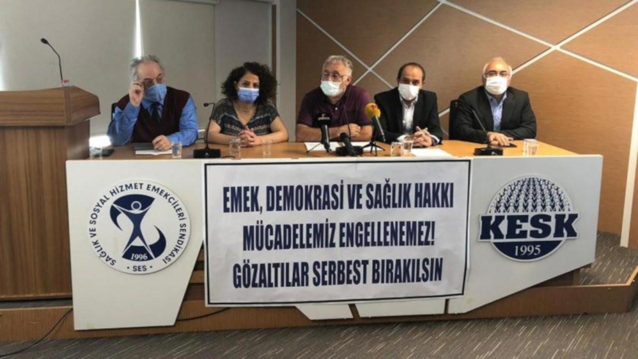 SES: Sağlık örgütleriyle değil pandemiyle mücadele edin