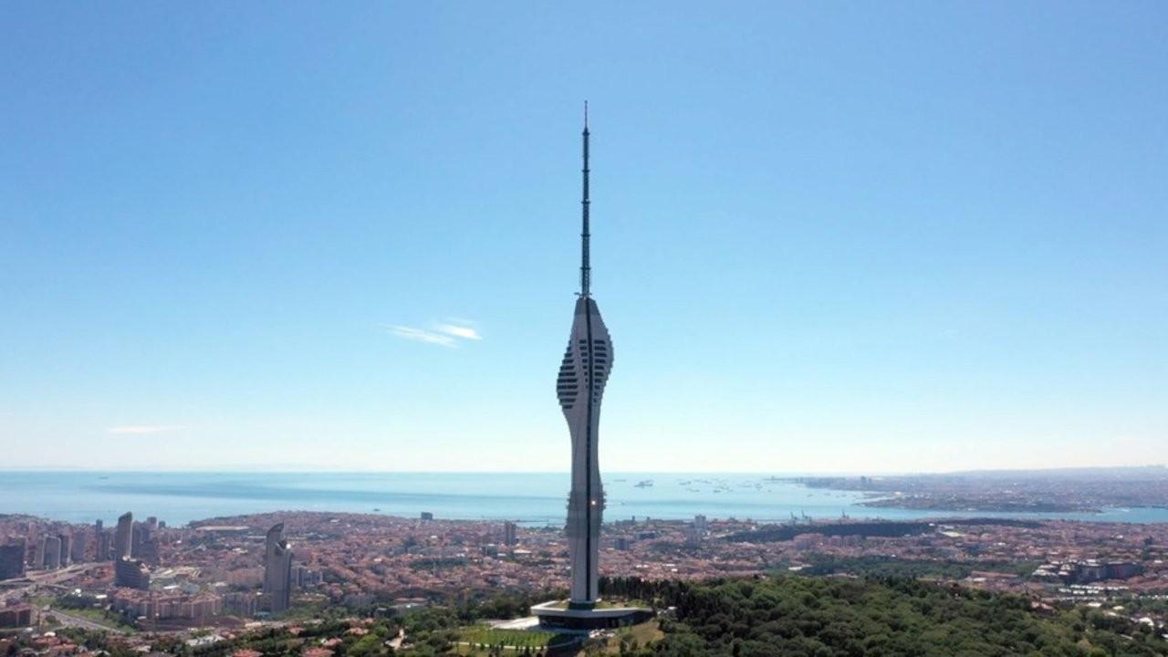 Çamlıca Kulesi'ni ziyaret ücreti 60 lira